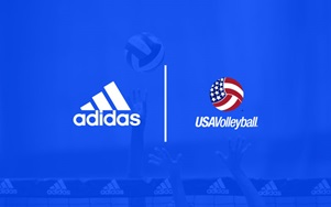 Adidas and USA Volleyball signed a multiyear partnership for Adidas to outfit all US National Volleyball teams with uniforms, apparel, accessories and footwear.  (Adidas)