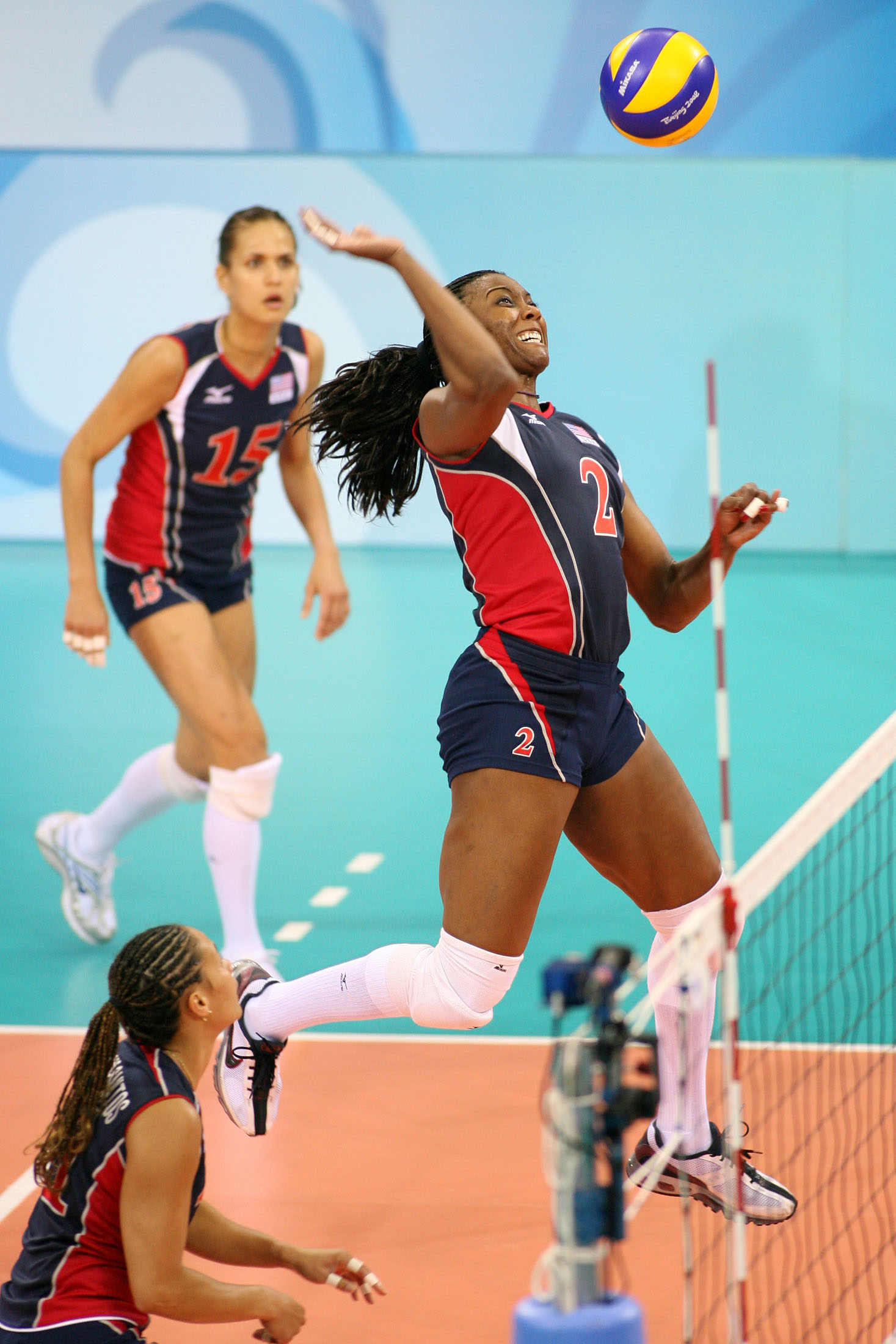 Danielle Scott Arruda is the first American, male or female, to play volleyball in five Olympic games.