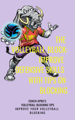 The Volleyball Block: Improve Defensive Skills With Tips on Blocking