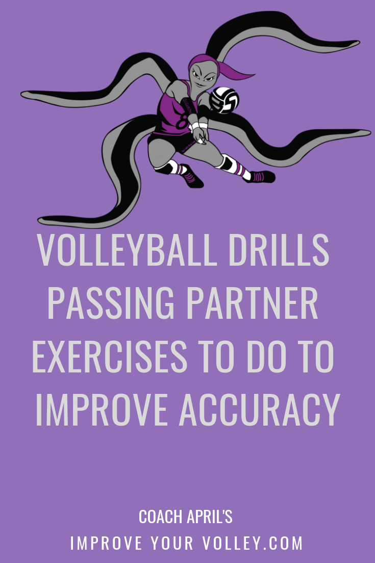 Volleyball Drills Passing Partner Exercises To Do To Improve Accuracy by April Chapple