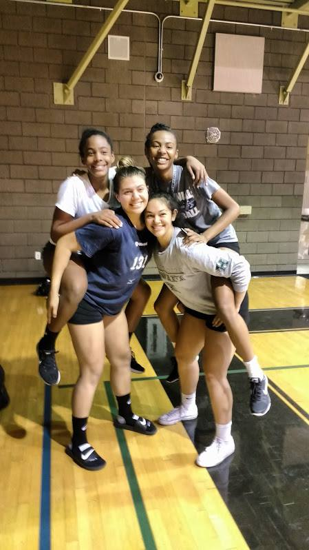 Las Vegas Volleyball Training with Coach April