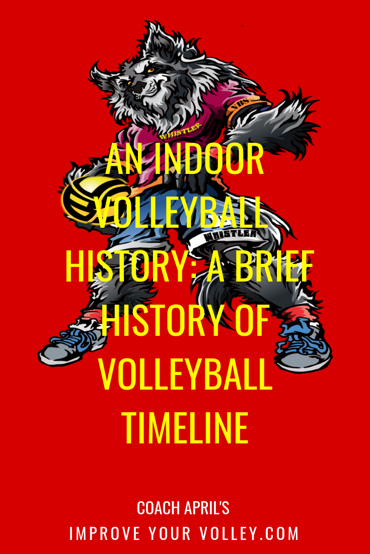 An Indoor Volleyball History: A Brief History of Volleyball Timeline by April Chapple