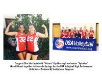USA Volleyball High Performance Players on Volleycats Elite