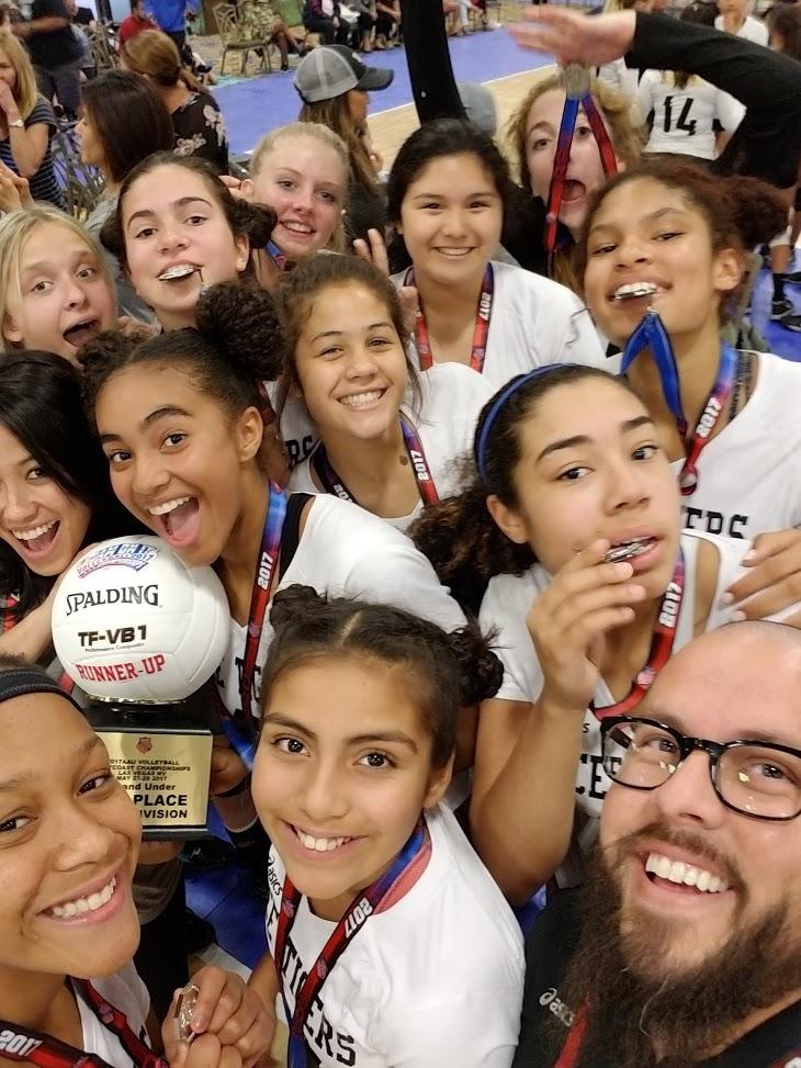 Volleycats Elite VBC Tigers Silver Medalists