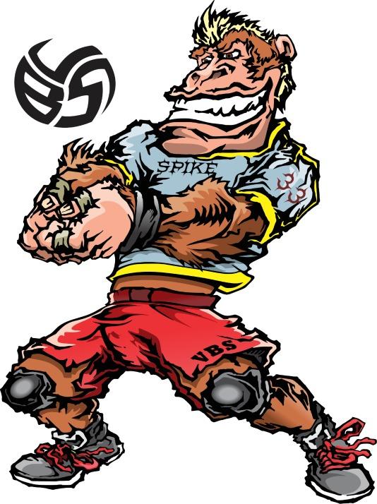 Spike the Gorilla - Middle Blocker 2 All VBS Beast Second Team