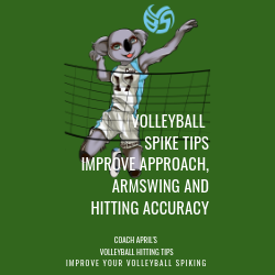 Volleyball Spike Tips Improve Approach, Armswing and Hitting Accuracy: Coach April's Volleyball Serving Tips: Improve Your Volley.com