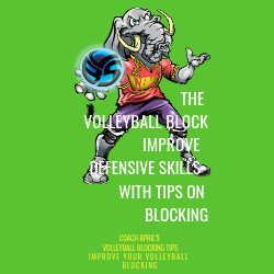 The Volleyball Block Improve Defensive Skills With Tips On Blocking: Coach April's Volleyball Setting Tips: Improve Your Volley.com