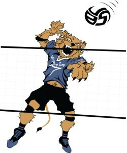 Volleybragswag Lion Coloring Pages
