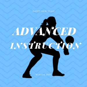 Learn more about the weekly advanced volleyball  instruction offered to varsity level, elite, USAVHP and collegiate athletes taught by me, Coach April Chapple.
