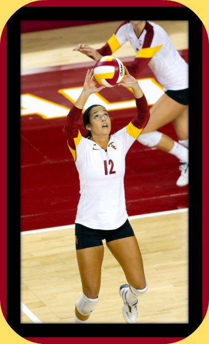 Meet Kendall Bateman one of the top college volleyball setters in the Pac 12 Conference.