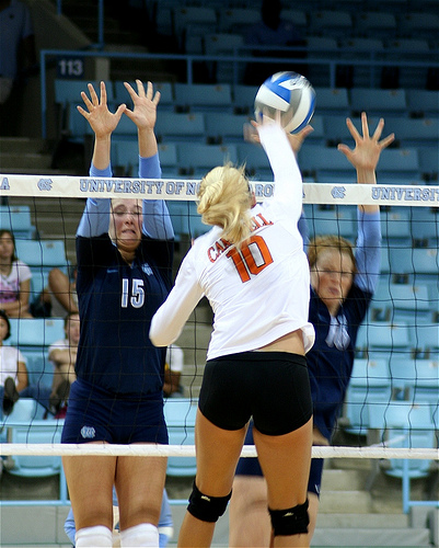 Blocking Drills Volleyball Beginners Do At  Our Classes