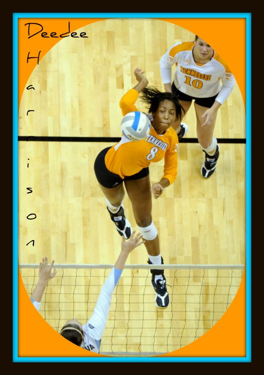 Meet DeeDee Harrison the collegiate middle blocker volleyball player for the University of Tennessee, Knoxville.