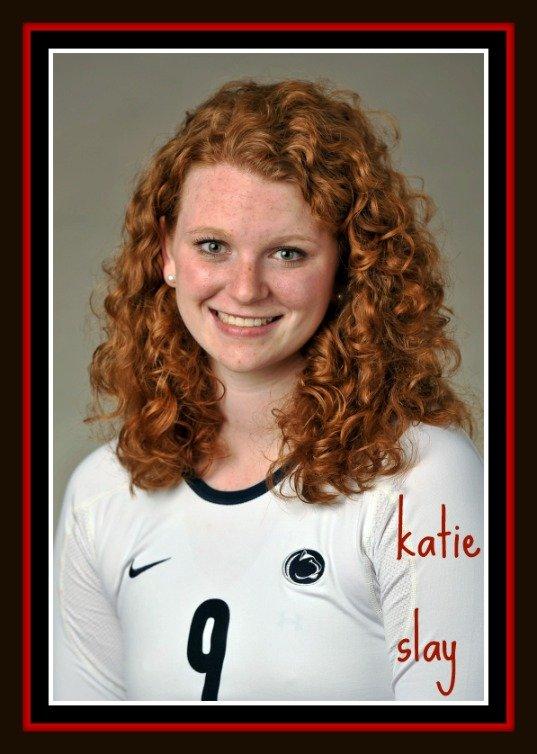 Meet Katie Slay middle blocker volleyball hitter for Penn State University.