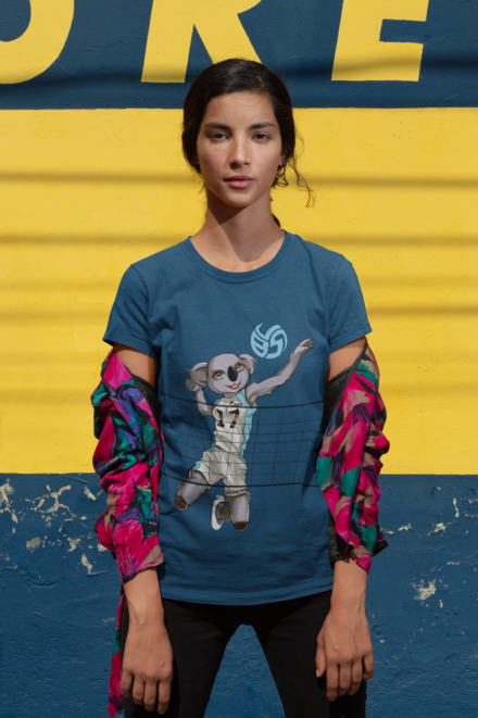 Shop the Coco the Volleybragswag Koala volleyball t-shirt ideas, sweatshirts, hoodies and long sleeve shirts for men women and youth are available on Amazon Prime.