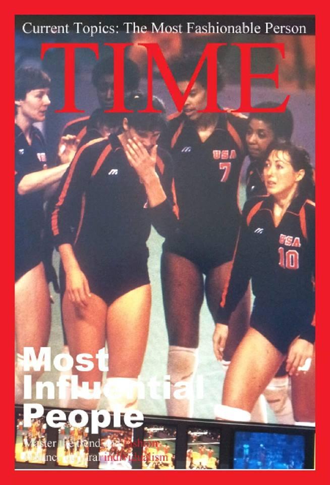 1984 US Olympic silver medalists players like Flo Hyman, Debbie Green, Paula Weishoff, Rose Magers and Rita Crockett...