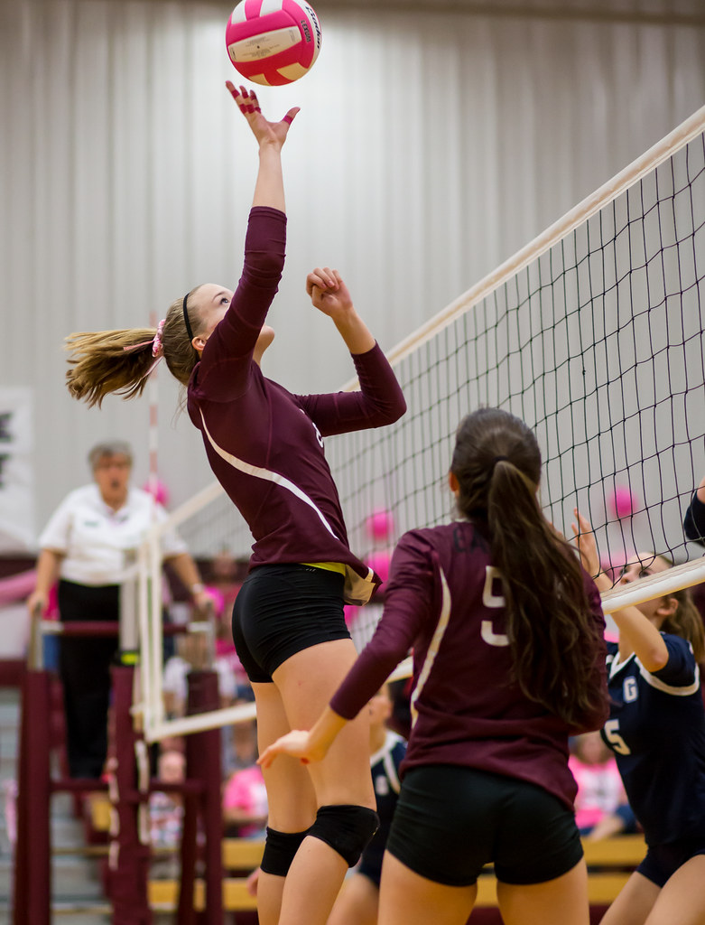 Volleyball Strategies on Tipping: A tip is the way to attack the ball using your fingertips to contact the ball to push it in the opposing team's court to score a point. (Ralph Arvesen)