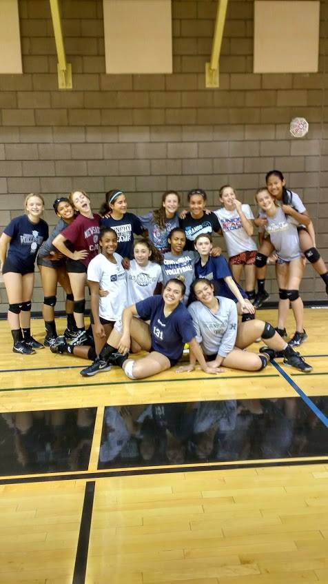 Las Vegas Volleyball Lessons with Coach April