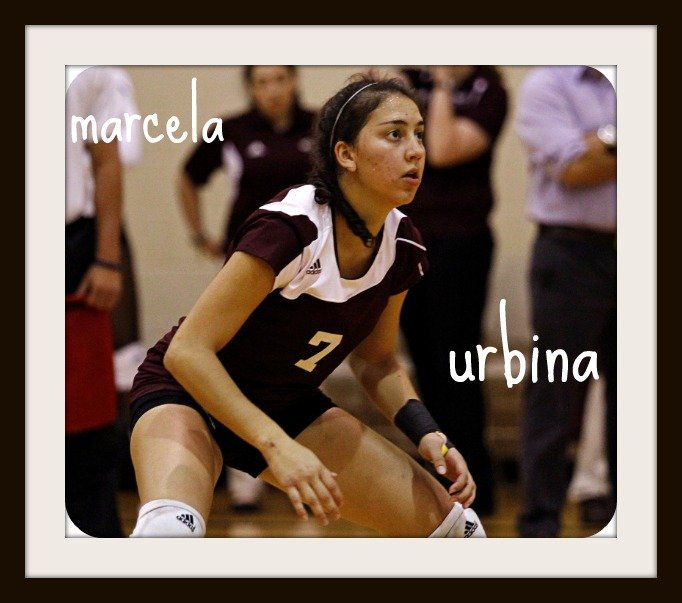 Libero Volleyball Interviews Top College Liberos Answer My Questions - Marcela Urbina