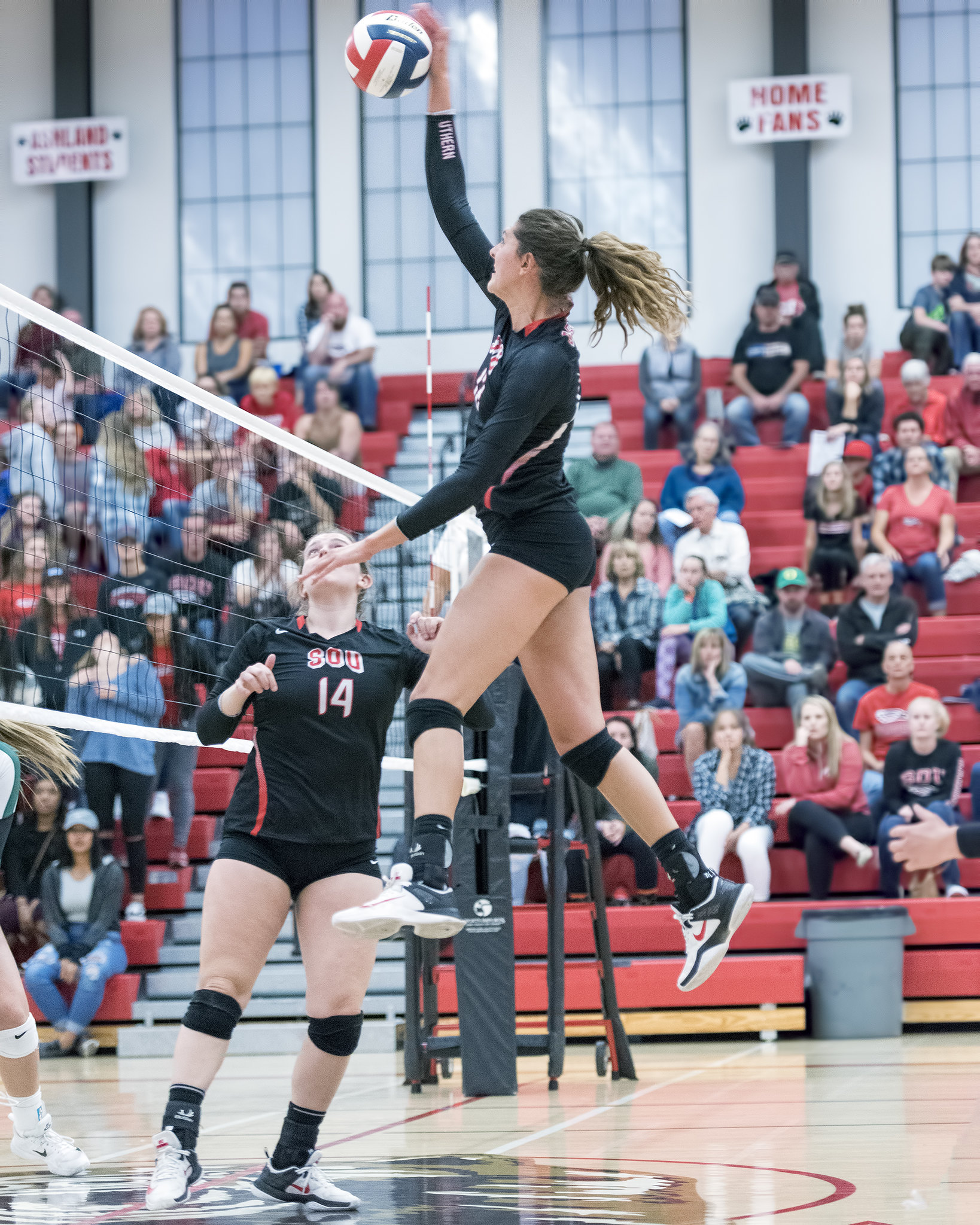 Teaching Volleyball Skills:Certain hitting volleyball drills and skills study are designed to help players develop an aggressive mindset when they go up to hit. (Al Case)