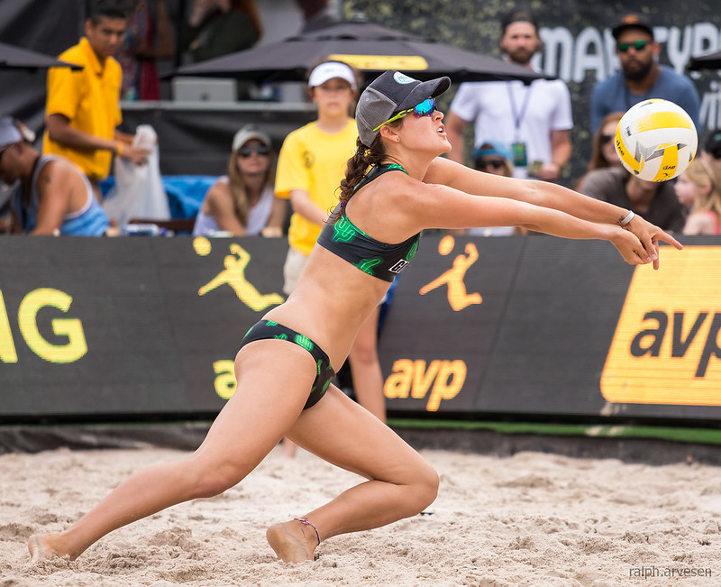 Learn several ways you can take advantage of the benefits of playing beach volleyball in order to help improve your indoor volleyball playing skills.  (Ralph Aversen)