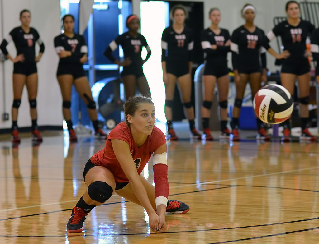 Volleyball Platform: Present your platform in front of you, you block the path of the ball so it contacts your forearms and is deflected up in the air towards the middle of your court