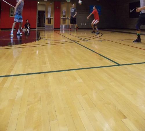Volleyball rotation: