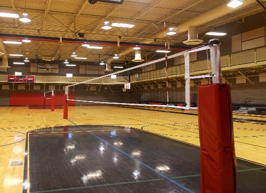 Volleyball Rules for Dummies: The purpose of the Volleyball net is to separate the two competing teams and to create a barrier for the ball to pass over during a rally.