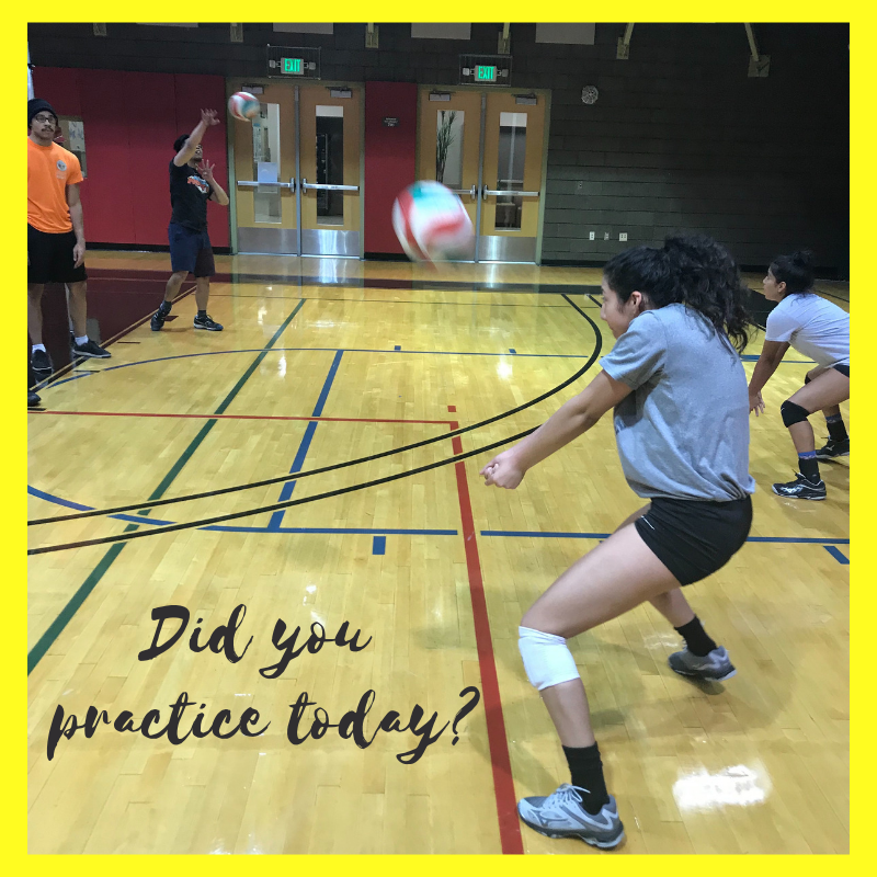 We do alot of volleyball training drills in our Boot Camp classes to help improve Vegas players defensive skills in the back row.