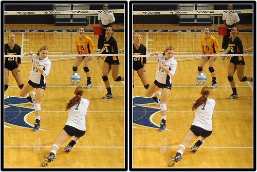 Volleyball Defense: What To Do After You've Served The Opposing Team-Learn how blocking and digging work together  (Michael E Johnston)
