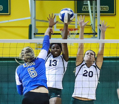 The Middle Volleyball Blocker Rules, Requirements and Responsibilities: Now that you know where the ball is being set its time for you to look at your hitter.