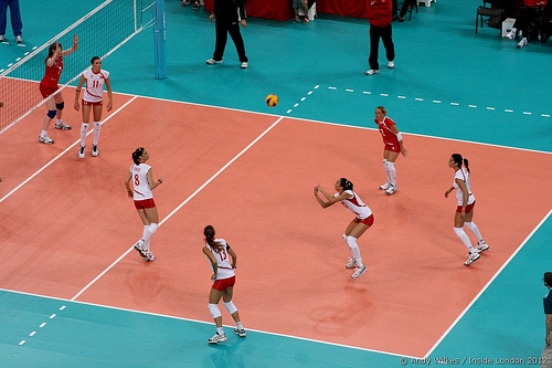 Learn the rules of volleyball before stepping on the court (Andy Wilkes)