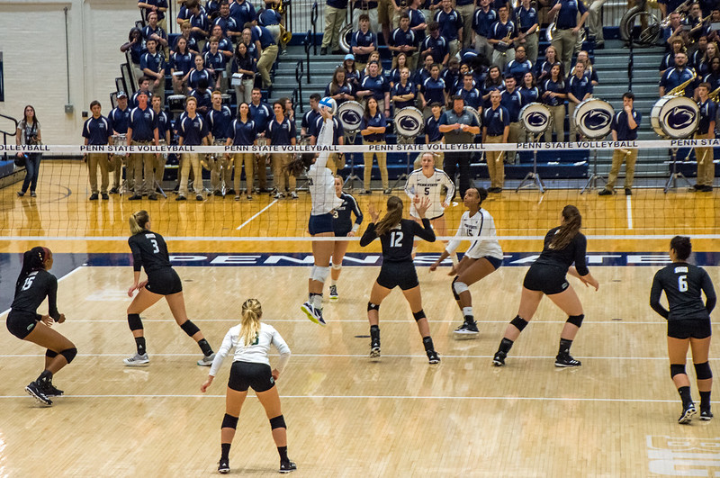 Varsity players know the 6 fundamental skills of volleyball are serving, passing, setting, blocking, digging and hitting. Serving starts the rally and is the most important skill. (Craig Fildes)