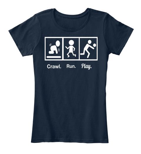 crawl.run.play. VolleyBragSwag shirt