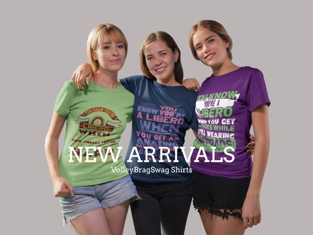 Volleyball Sayings:You Know Know You're A Libero When...New Arrivals!