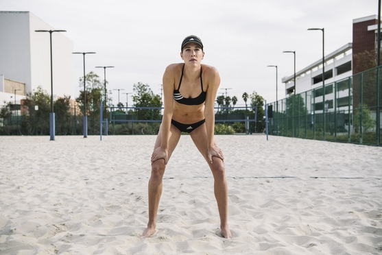 2020 Tokyo Olympic hopeful Alix Klineman is a pro beach volleyball player and 2010 AVCA All American (Adidas)
