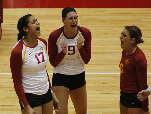 Volleyball Team Communication: What Backrow Players Tell Their Hitters (Matt Van Winkle)