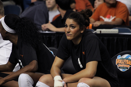 The Best Volleyball Player in the Conference: Texas Juliann Faucette at the NCAA Finals