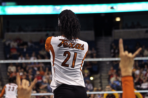 Best Volleyball Player in the Power Five: Olympian, Pro Player and former Texas Player of the Year Destinee Hooker