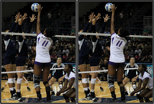 Rules of Volleyball: When can a team score a point?: When the ball they attack hits the floor inside the court of the opposing Team B during a rally.....find out more on Improve Your Volleyball.com