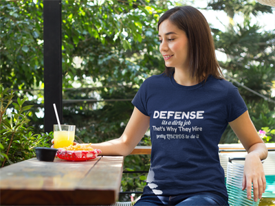 Volleyball Sayings: Defense is a Dirty Job