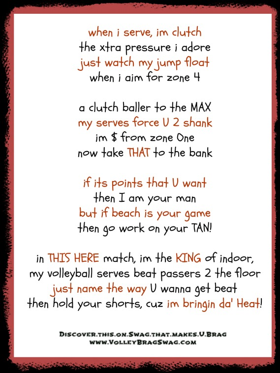 volleyball quotes for servers