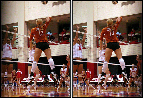 A Digging Volleyball Tutorial: To dig a volleyball, its your job to place yourself in the path of the oncoming ball that's been hit by an opposing team's hitter.
