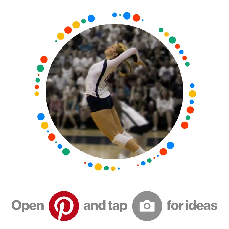 How To Serve A Volleyball Pinterest Pin. Open and Tap for Ideas