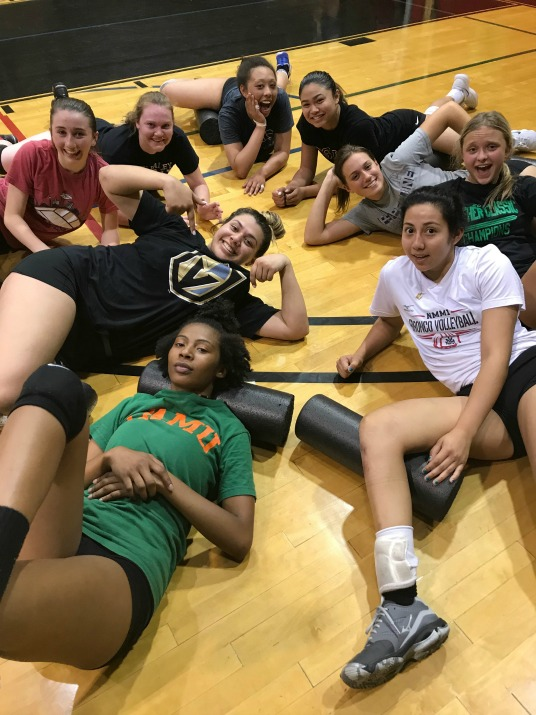 Thursday Night Boot Camp Class- June 2018 Advanced Varsity/College Group