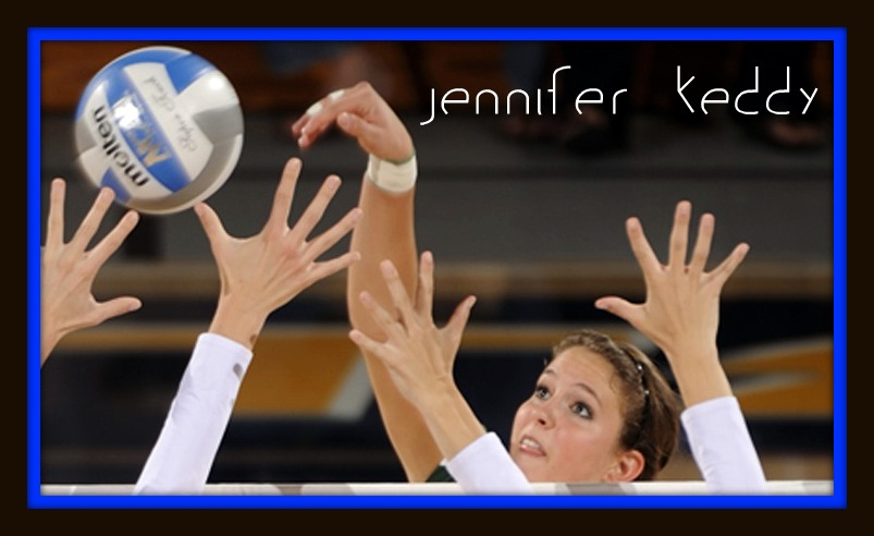 Jen Keddy and Erin Johnson two of the best middle blocker volleyball athletes talk about competing in Division I