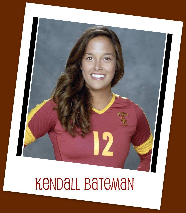 USC Girls Volleyball Player Kendall Bateman