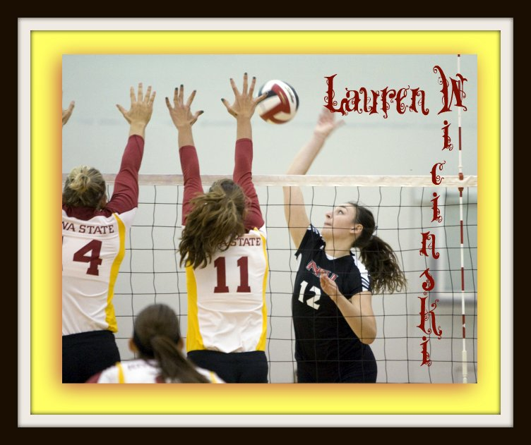 Lauren Wicinski answers my outside hitter volleyball interview questions.