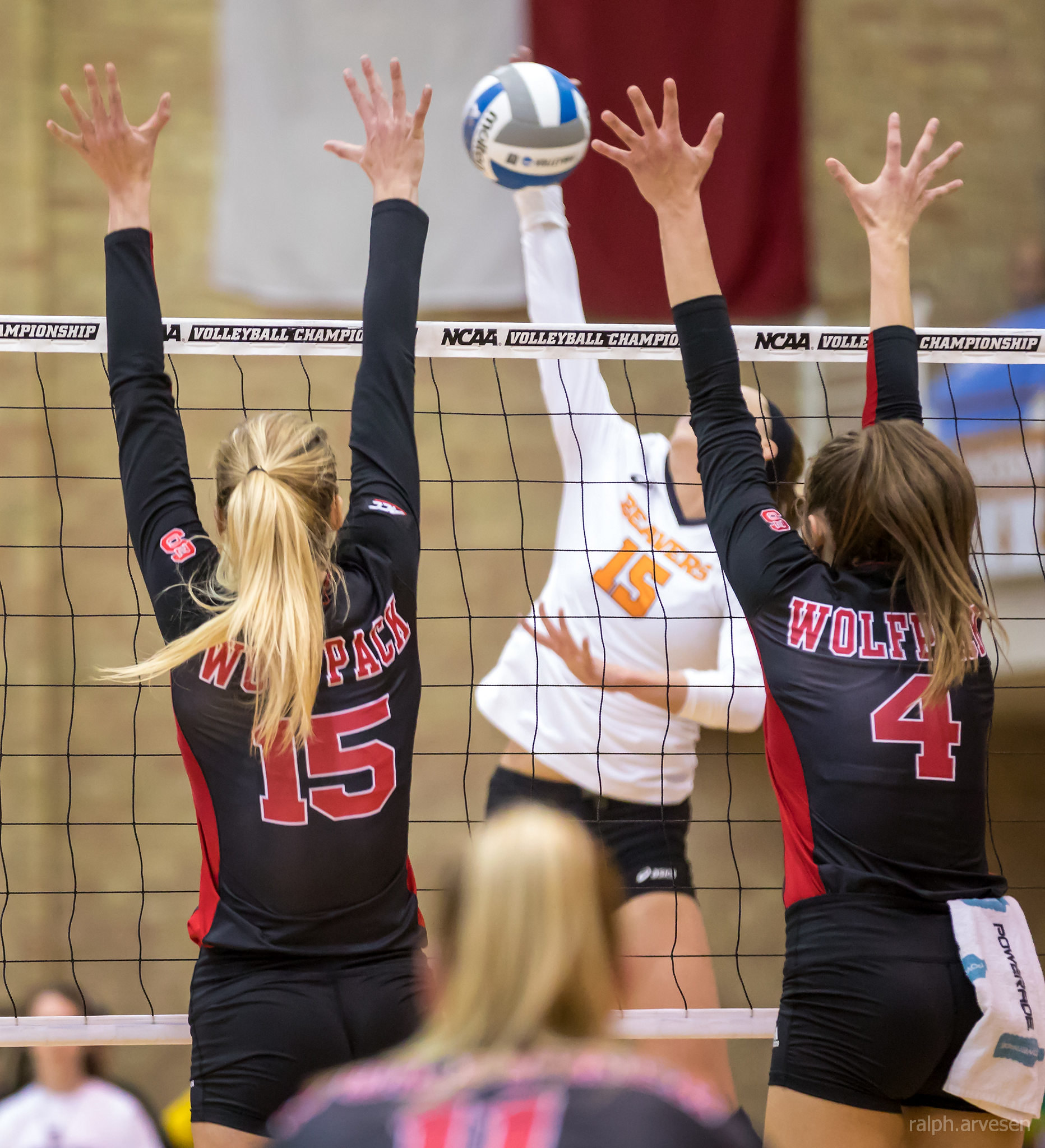 The Volleyball Block: Improve Defensive Skills With Tips on Blocking (Al Case)