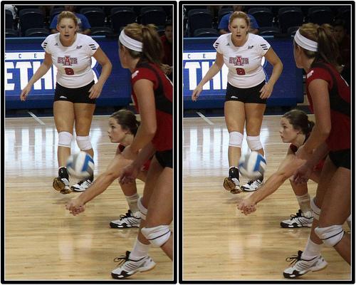 Teaching volleyball skills:Passing