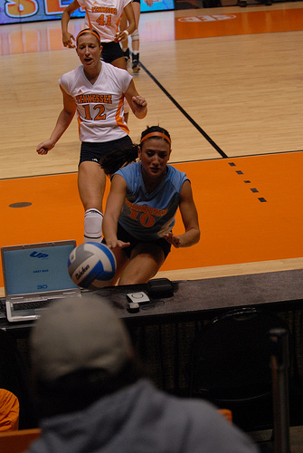 Practice going for every ball no matter where it is on the court (Tennessee Journalist)